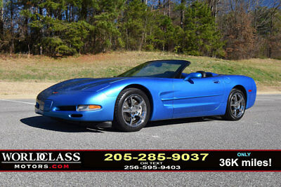 1999 Chevrolet Corvette 2dr Convertible Loaded 1999 Chevrolet Corvette convertible 6-speed, only 36K miles! 9820212223
