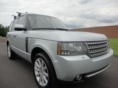 2010 Land Rover Range Rover SC 2010 LAND ROVER RANGE ROVER SUPERCHARGED SC V8 NAV HOT.COOL SEATS CLEAN CARFAX