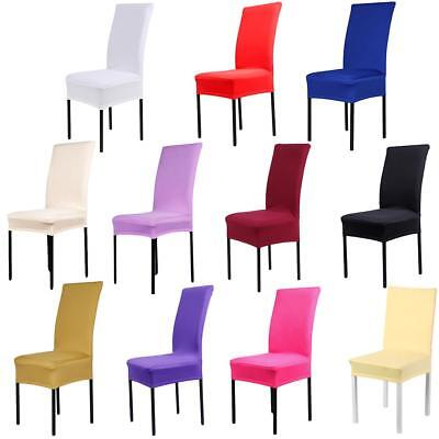 Modern Stretch Dining Party Chair Covers Removable Washable Spandex Slipcovers