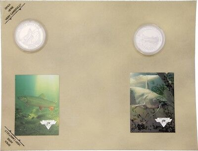 Collectible Coins TroutCatfish     F1552S