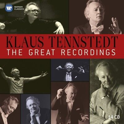 Klaus Tennstedt - The Great EMI Recordings CD (10) Warner Cla NEW