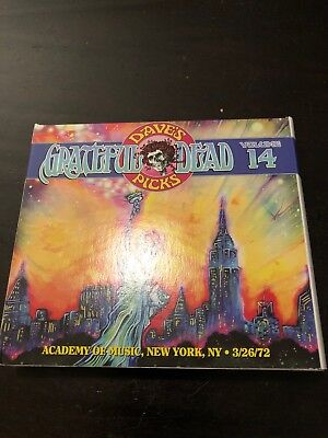 Grateful Dead Dave's Picks 14 Academy of Music New York City NY 3/26/72 1972 NYC