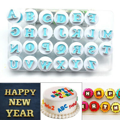 26 Alphabet Letters Cookies Cutter Cake Decor Tool Fondant Sugarcraft Mold Mould