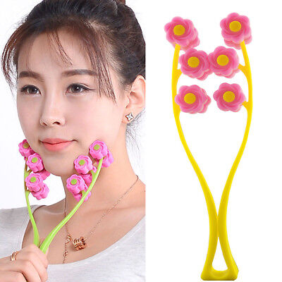 Double FaceUp Roller Massage Slimming Remove Chin  Facial Massager Beauty Tool