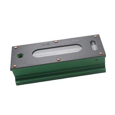 Heavy Duty Precision Bar Level Tool with Case 0.02mm, Fine Finishing 100mm