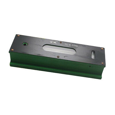 Heavy Duty Precision Bar Level Tool with Case 0.02mm, Fine Finishing 150mm