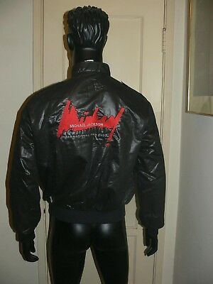 Vintage 1980's Michael Jackson International Fan Club Jacket - Medium