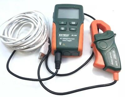 EXTECH DL150 Data logger AC Voltage & Current Clamp + Cable