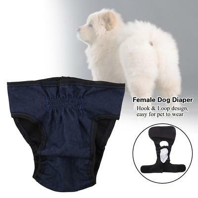 Female Dog Puppy Pet Diaper Pants Short Panty Underwear Physiological Sanitary