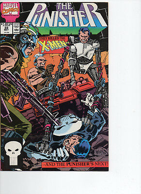 Marvel Comics The Punisher Volume 2 Comic Book #33 May 1990