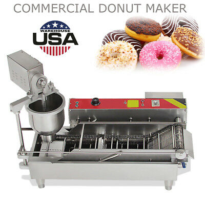 Commercial Auto Donut Maker Making Machine Stainless Steel 3 Optional Mold-USA