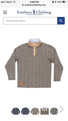 b65640a50a9 Southern Marsh Cascade Herringbone Pullover NWT Medium Brown Burnt Taupe