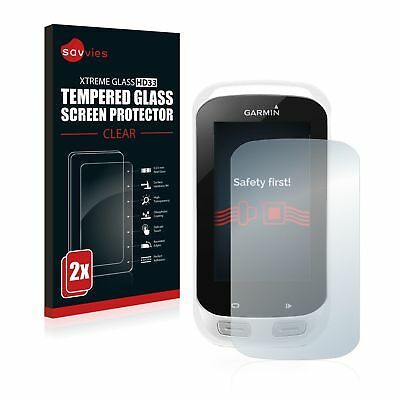 Garmin Edge Explore 1000 ,2 x Xtreme Glass HD33 Tempered Glass Screen Protector