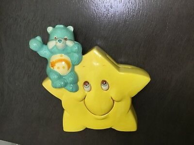 Vintage Wish Care Bears ceramic coin bank