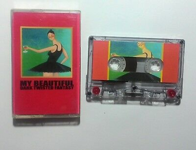 Kanye West – My Beautiful Dark Twisted Fantasy (cassette) [check info]