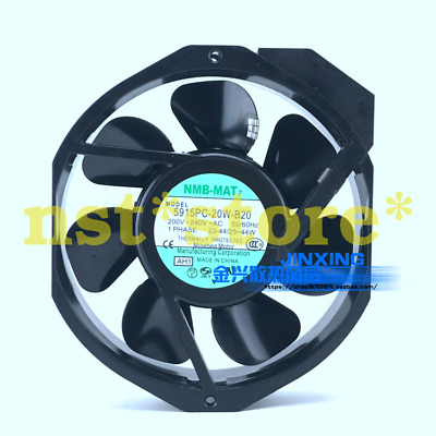 Applicable NMB-MAT 5915PC-20W-B20 200VAC metal leaf high temperature cooling fan
