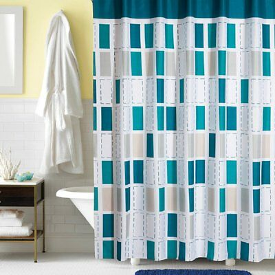Ufaitheart Shower Stall Curtain 36 X 72 Inches Waterproof Fabric Bath