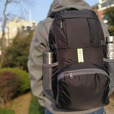 US Foldable Lightweight Travel Backpack Daypack Bag Sports Camping &Hiking, 35L