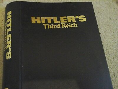 Hitlers Third Reich Magazine folder/ring binder for magazines from 1998