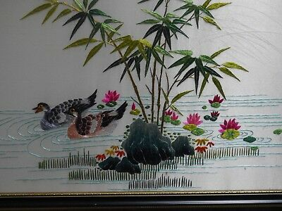 Japanese Embroidered Pictures X 2