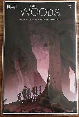 The Woods #1 1:10 Variant Cover 1st Print James Tynion IV Boom! Studios