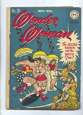1947 Wonder Woman #26 DC Comics Comic Book VG