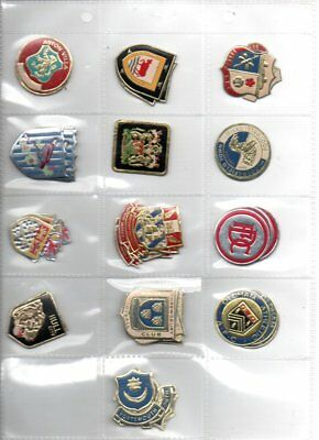 1970s ESSO Foil Football Badges All Unused - Choose The Ones You Need