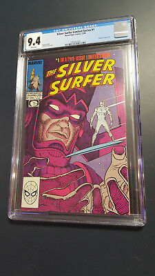 Silver Surfer Limited Series 1 CGC 9.4 12/88 App Of Galactus