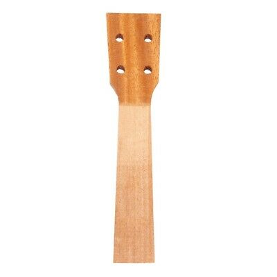 21inch Soprano Ukulele Neck Sapele Wood for Luthiers DIY Supplies