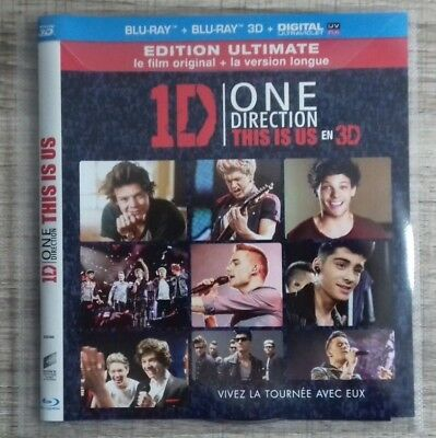 Blu ray One Direction 3D