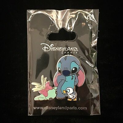 DLP Sad Stitch Scrump Duck Ugly Baby Duckling DLRP Paris 2017 Disney Pin 125039