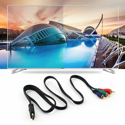 HDMI auf 3RCA RGB Adapter Cinch Kabel Video TV  Chinch Stecker Cable ZR