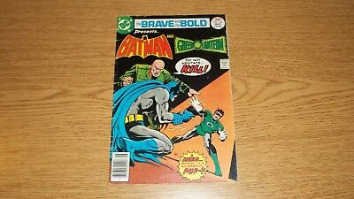 Brave & The Bold Dc Comics #134 Batman & Green Lantern Bronze