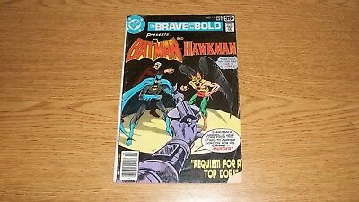 Brave & The Bold Dc Comics #139 Batman & Hawkman Bronze
