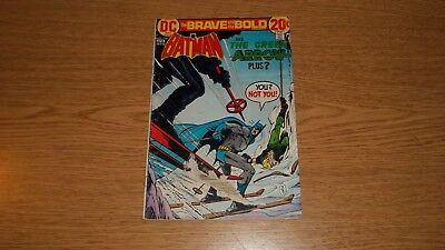 Brave & The Bold Dc Comics #106: Batman & Green Arrow Bronze Reader