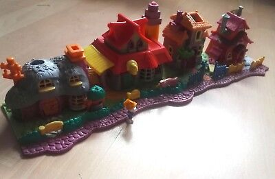 lot polly pocket maisons animaux vintage