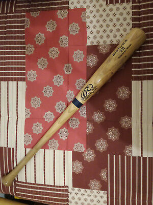 "Mazza Da Baseball Rawlings 32"" Big Stick 232 Adirondack Model Made In Usa"