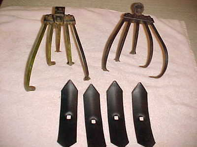 6 Vintage Planet Jr Plows  / Plow Points for The Cultivator--S134 -125