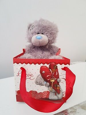 Small Me To You Bear In A Bag - Valentines Day / Anniversary Gift