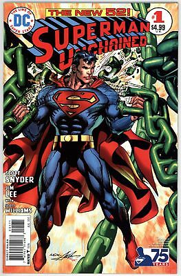 Superman Unchained (2013) #1B NM 9.4 Neal Adams Variant