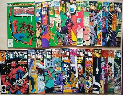 Marvel Comics: Peter Parker The Spectacular Spiderman x29 issues