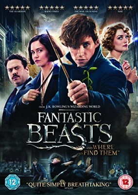 Fantastic Beasts And Where To Find Them (UK IMPORT) DVD [REGION 2] NEW