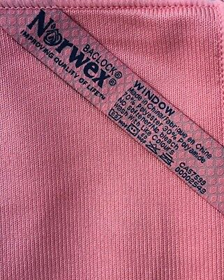Norwex Window Cloth Pink New Baclock