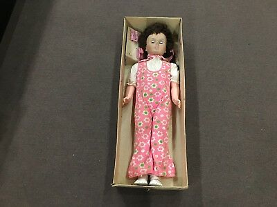 """Vintage 1960's Juliette 36"""" Walking Doll by Jolly Toys with Original Box"""