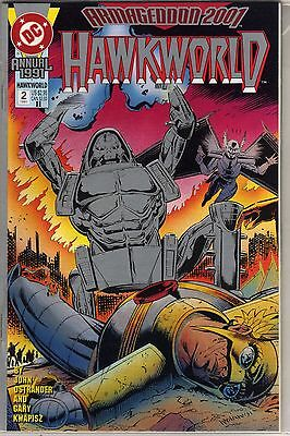 Hawkworld Annual #2 Second Printing Armageddon 2001 John Ostrander