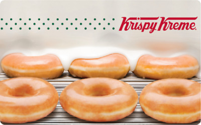 $25 Krispy Kreme Physical Gift Card For Only $23 - FREE 1st Class Mail Delivery