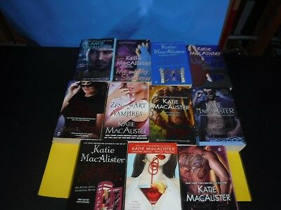 Lot Of 11 Paranormal Novels By Katie Macalister