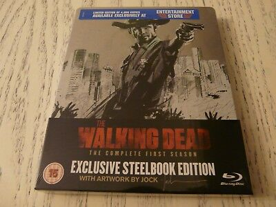 the walking dead 1st season (ENTERTAINMENTSTORE) bluray STEELBOOK factory sealed
