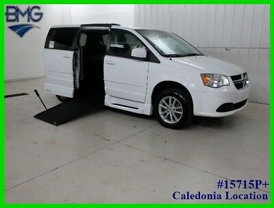 2014 Dodge Grand Caravan Side Entry Handicap Manual Wheelchair Ramp Mini Van 2014 42K Mile SXT Minivan Van Handicapped Side Entry Manual Wheel Chair Ramp