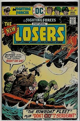 DC Comics Our FIGHTING FORCES #165 The LOSERS VG/FN 5.0